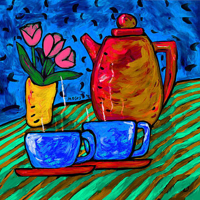 Painting - Morning Tea by Dale Moses