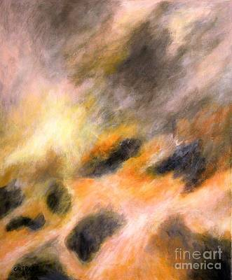 Art Print featuring the painting Morning Tide by Alison Caltrider