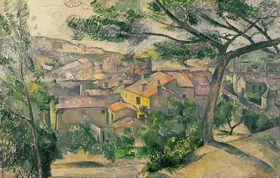 Jerusalem Painting - Morning View Of L'estaque Against The Sunlight by Paul Cezanne