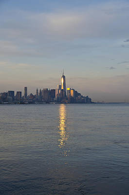 Nyc Digital Art - Morning View Of Manhattan by Bill Cannon