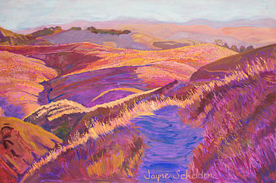 Morning Walk - Johnson Ranch Original by Jayne Schelden