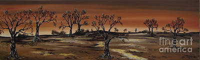 Painting - Red Dawn by Kenneth Clarke