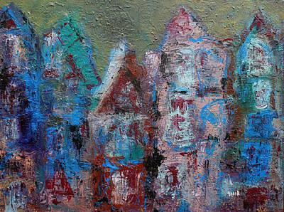 Painting - Morning Walk by Oscar Penalber