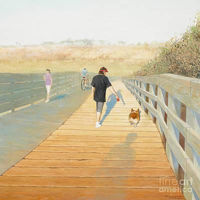 Painting - Morning Walk V.15 by Max Yamada