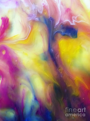 Beauty Painting - Morning Watercolor Abstract Painting by Justyna JBJart