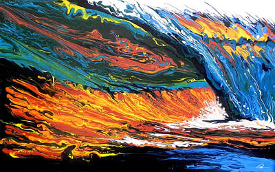 Painting - Morning Wave by Paul Miners