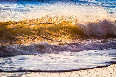 Photograph - Morning Wave by Rob Travis