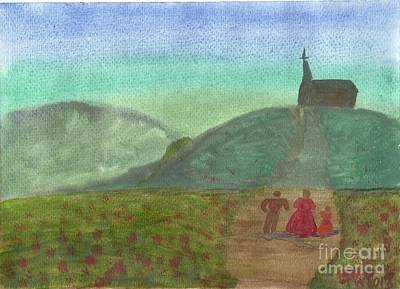 Morning Worship Art Print by Tracey Williams