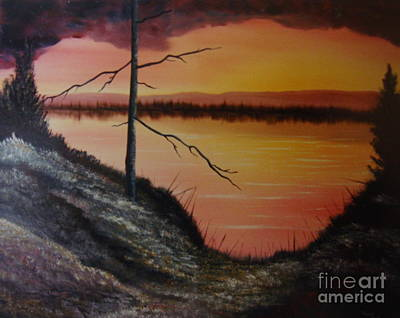 Art Print featuring the painting Morning Yes by Stuart Engel