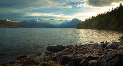 Mornings At Lake Mcdonald Art Print by Stuart Deacon