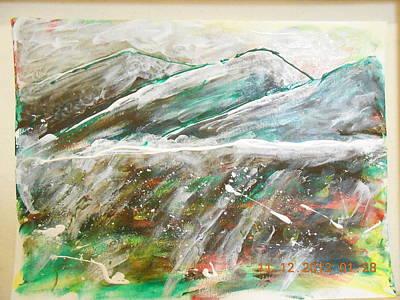 Alfredo Llana Painting - ...mornings At The Inland Empire... by Alfredo Llana