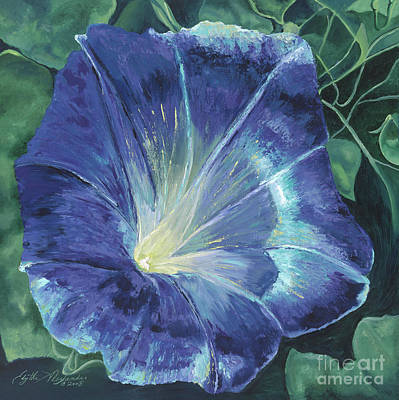 Painting - Morning's Glory by Edythe Alexander