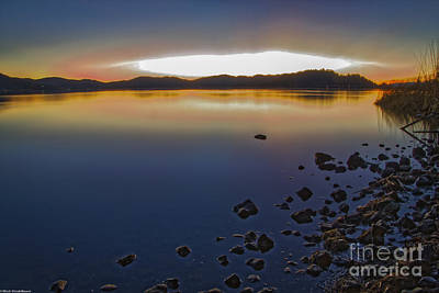 Clearlake Photograph - Mornings Kiss by Mitch Shindelbower
