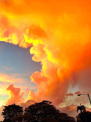Morningside Sunset Original by Dan Vidal