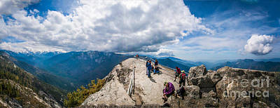 Photograph - Moro Rock View by Charles Garcia