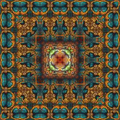 Digital Art - Moroccan Fantasy No 3 by Charmaine Zoe