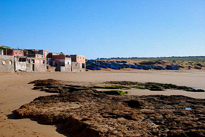 Agadir Photograph - Moroccan Fishing Village 1 by Tracy Winter