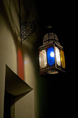 Photograph - Moroccan Lamp by Mick House