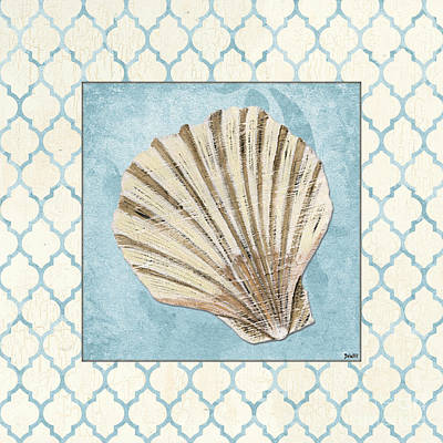 Shell Painting - Moroccan Spa 1 by Debbie DeWitt