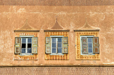 Photograph - Moroccan Windows by Mick House
