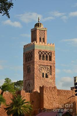 Photograph - Morocco At Epcot by Carol  Bradley