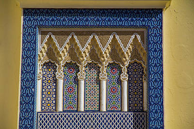 Africa Tiles Photograph - Morocco, Fes Medina by Emily Wilson