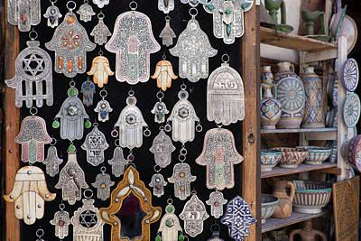 Fez Photograph - Morocco, Fez, Medina, Display by Emily Wilson