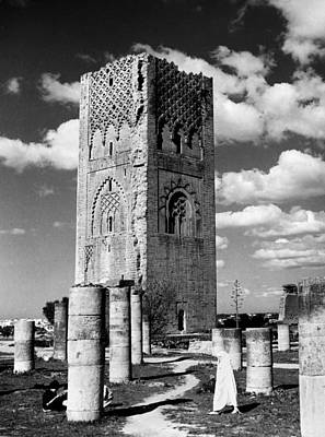 Morocco Hassan Tower Art Print by Granger