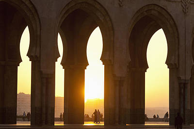 Morocco, Looking Through Arches Art Print