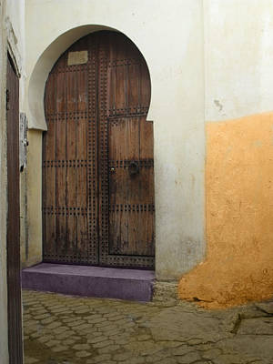 Photograph - Morocco Old City Casablanca by Ali ArtDesign