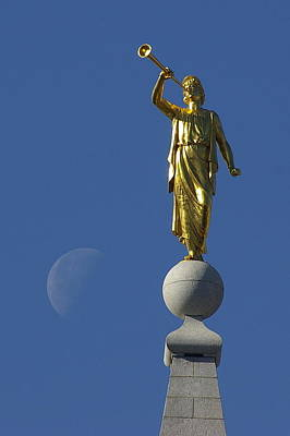 Photograph - Moroni And The Moon by David Andersen