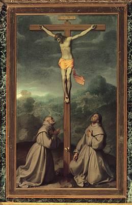 Moroni Giovan Battista, Crucifix Art Print by Everett