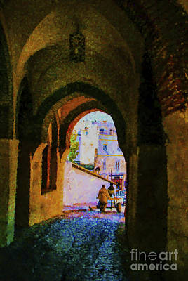 Photograph - Morraco Gate Painting by Rick Bragan