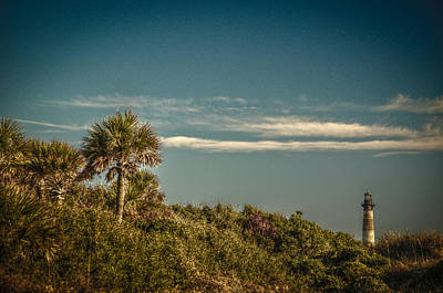 Morris Island Light Charleston Sc Art Print