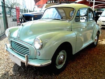 Lucille Ball - Morris Minor 1000 Coupe b by Gert J Rheeders
