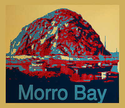 Pittsburgh According To Ron Magnes - Morro Bay by Barbara Snyder