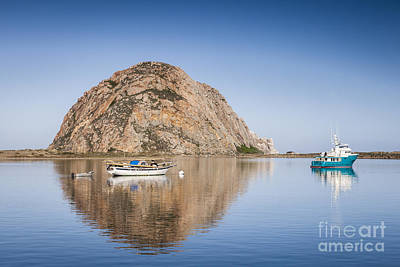 Morro Bay Photograph - Morro Bay Calfornia by Colin and Linda McKie