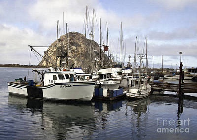 Photograph - Morro Bay Harbor IIi by Sharon Foster