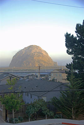 Photograph - Morro Bay Rock At Sunrise by Michael Gooch