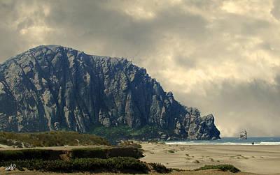 Digital Art - Morro Bay State Park by Jim Pavelle
