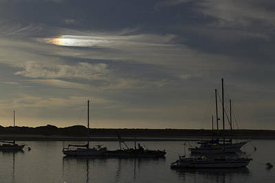 Photograph - Morro Bay Sunbow by Jim Moss