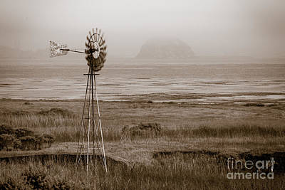 Photograph - Morro Bay Windmill by Anthony Bonafede