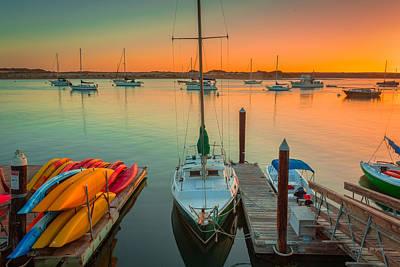 Photograph - Morro Bay  Sunset by Tim Bryan