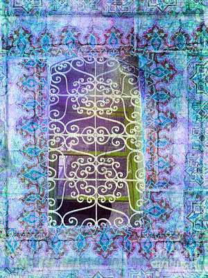 Morroco Window Art Print