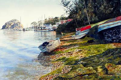 Painting - Morro Bay by Bill Hudson