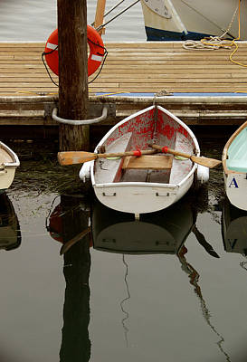 Morrow Bay Skiff Art Print