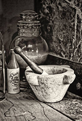 Photograph - Mortar And Pestle by Heather Applegate