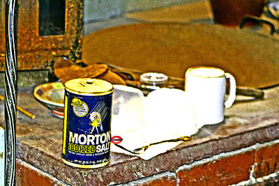 Photograph - Morton Salt by Joseph Coulombe