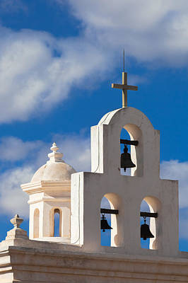 Photograph - Mortuary Bells At San Xavier Del Bac by Ed Gleichman