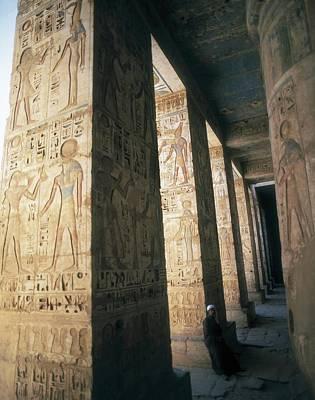 Mortuary Temple Of Ramesses II. Egypt Art Print by Everett